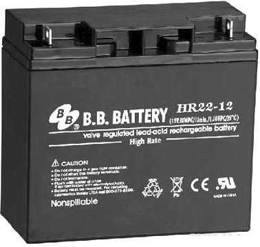 BB Battery HR22-12/B1 АКБ