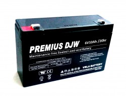 6V10Ah Premius DJW 6-10 battery