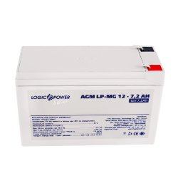 LogicPower LP-MG 12V 7,2AH (LP-MG 12 V 7,2 AH) 12V7.2Ah, 12В 7.2Ач АКБ