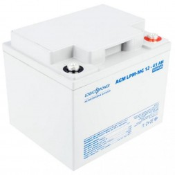 LogicPower LPM-MG 12 - 45 AH AGM (LPM-MG12-45 AH) 12V 45Ah, 12В 45Ач АКБ