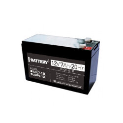 i-Battery ABP7-12L, 12V 7Ah, 12В 7Ач АКБ