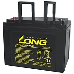 Long (KPH 75-12N) 12V 75Ah, 12В 75Ач АКБ