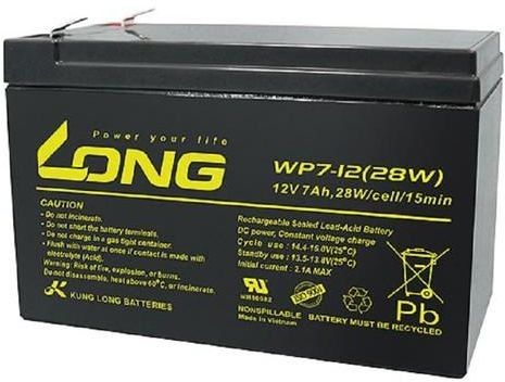 Long (wbr) WP7-12 Не китай-Вьетнам (12V 7Ah, 12В 7Ач)
