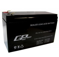 12V 7.2Ah battery, 12В 7.2Ач, Great Power PG 12-7.2