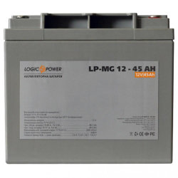LogicPower LP-MG 12 - 45 AH AGM (LP-MG12-45 AH) 12V 45Ah, 12В 45Ач АКБ