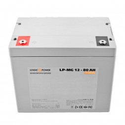 LogicPower LP-MG 12-80AH (LP-MG12-80 AH) 12V 80Ah, 12В 80Ач АКБ