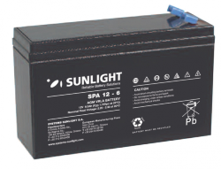 SUNLIGHT SP (SPa) 12 - 6 АКБ 12V 6Ah, 12В 6Ач
