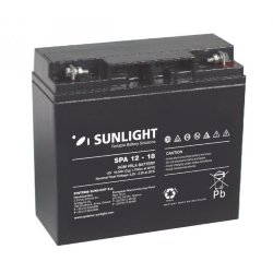 SUNLIGHT SP (SPa) 12 - 18 АКБ 12V 18Ah, 12В 18Ач