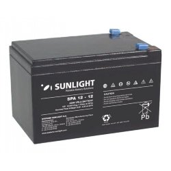 SUNLIGHT SP (SPa) 12 - 12 АКБ 12V 12Ah, 12В 12Ач